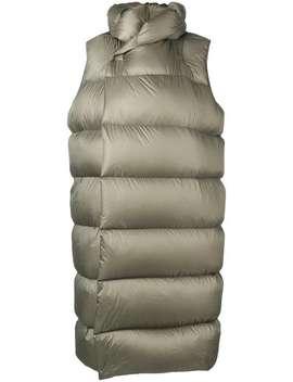 Sleeveless Puffer Jacket by Rick Owens