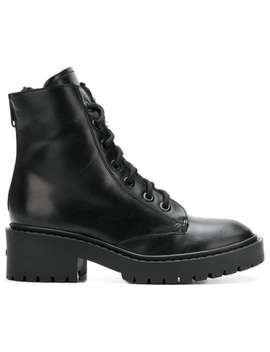 Lace Up Ankle Boots by Kenzo