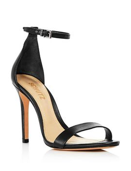 Women's Cadey Lee Ankle Strap High Heel Sandals by Schutz