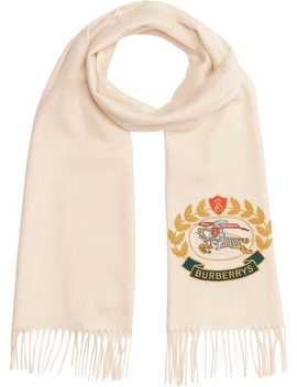 Archive Logo Scarf by Burberry