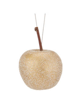 John Lewis Into The Woods Glittered Apples Tree Decorations, Box Of 12 by John Lewis