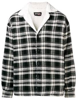 Plaid Shirt Jacket by Represent