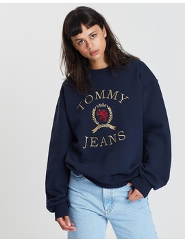 Crew Crest Sweater   Women's by Tommy Jeans