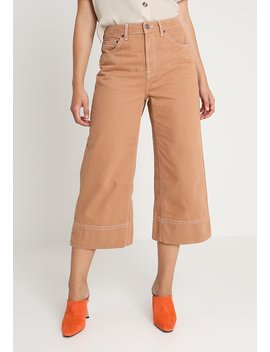 Crop   Flared Jeans by Topshop