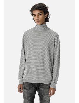 Striped Turtleneck Sweater by John Elliott