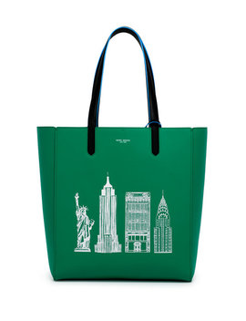 Nyc Skyscraper Iconic Tote by Henri Bendel