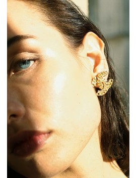 Rare 1960's Chanel Earrings by Chanel