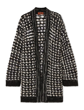 Wool Blend Cardigan by Missoni