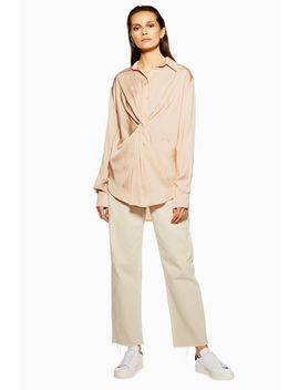 **Twist Front Shirt By Boutique by Topshop
