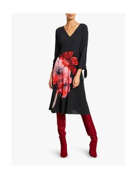 Mint Velvet Lila Floral Print Dress, Multi by Mint Velvet