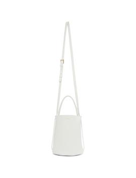 White Small Basket Bag by Jil Sander