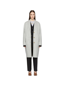Grey Avalon Coat by Acne Studios