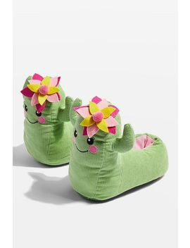 Cactus Slippers by Topshop
