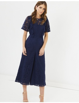 Holly Lace Jumpsuit by Chancery
