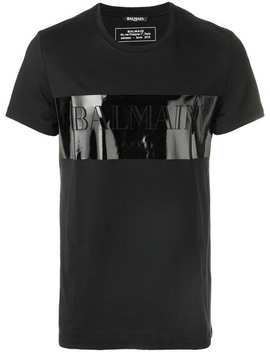 Front Logo T Shirt by Balmain