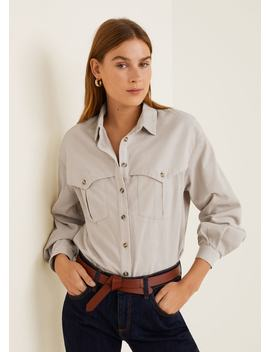 Corduroy Shirt by Mango