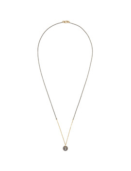 Silver & Gold Tahitian Pearl Necklace by Pearls Before Swine