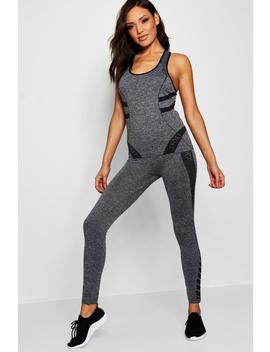 Fit Sports Vest And Legging Set by Boohoo