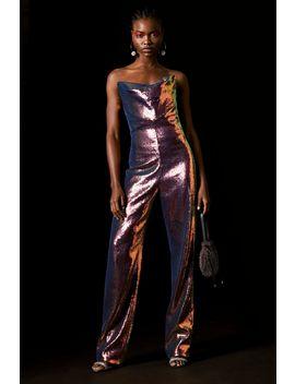 **Hologram Sequin Jumpsuit By Topshop X Halpern by Topshop