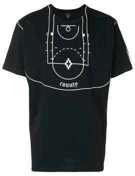 Nba Court T Shirt by Marcelo Burlon County Of Milan