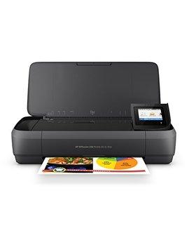 Hp Officejet 250Portable Multifunction Printer (Printer, Scanner, Photo Copier, All In One Printers, Wi Fi Hp E Print, Apple Air Print, Wi Fi Direct, Usb, 4800X 1200Dpi) Black by Amazon