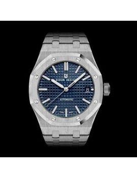 Didun Men's Watch Automatic Luxury Steel Miyota Sapphire Crystal Royal Oak Army by Didun