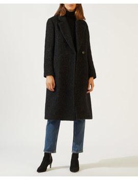 Tweed Maxi Coat by Jigsaw