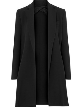 Stretch Wool Crepe Blazer by Max Mara