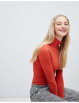 New Look   Coltrui In Ribbelstof In Oranje by Asos