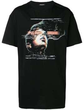 'i'm Only Human' T Shirt by Balmain