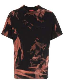 424 X Armes Bleach Treated T Shirt by 424