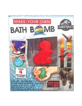 Build Your Own Bath Bomb Kit   Jurassic World 2 by Universal