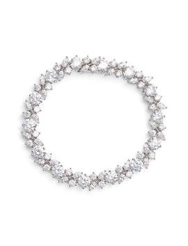 Cluster Cubic Zirconia Bracelet by Nadri