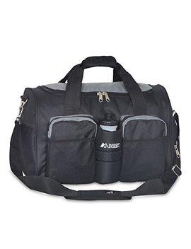 Everest Gym Bag With Wet Pocket, Dark Gray/Black by Everest