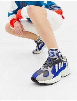 Adidas Originals Yung'1 Sneakers In Grey Multi by Adidas
