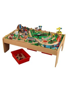 Kid Kraft Waterfall Mountain Train Set And Table by Kid Kraft