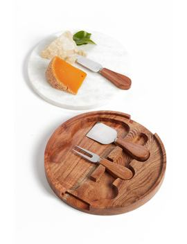Marble Topped Cheese Board & Cheese Knives by Nordstrom At Home