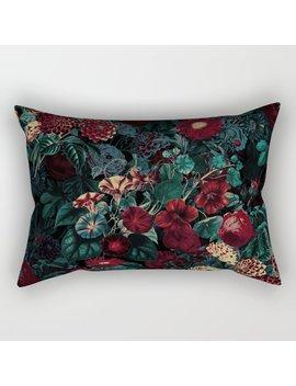 Night Garden Xxxi Rectangular Pillow by