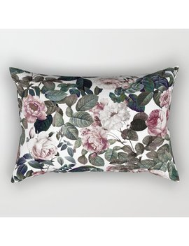 Vintage Garden Rectangular Pillow by