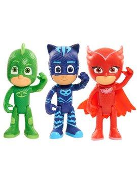 Pj Masks Articulated Figures 3pk, Includes Catboy, Owlette & Gekko by Pj Masks