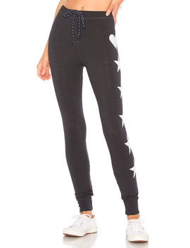 Stars + Heart Skinny Sweatpant by Sundry