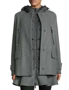 Phemia 2 In 1 Jacket by Moncler