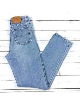 "Vtg 90s Levi's 17525 Retro High Waisted Denim Mom Jeans Made In Usa Women's 24"" by Levi's"