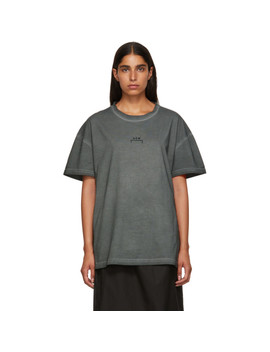 Grey Bracket Logo T Shirt by A Cold Wall*