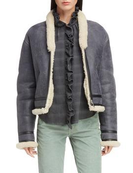 Isabel Marant Étoile Addy Genuine Shearling Jacket by Isabel Marant Etoile