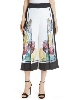 Tranquility Wide Leg Crop Pants by Ted Baker London
