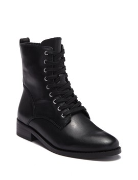 Hestawn Leather Lace Up Boot by Lucky Brand
