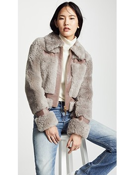 Fleeting Shearling Jacket by Zimmermann
