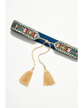 Royal Tapestry Wrap Belt by Free People