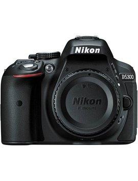 Nikon D5300   Digital Camera   Slr   24.2 Mp   Aps C   Body Only   Wi Fi   Black by Nikon
